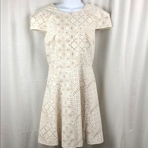 Anthropologie 4.Collective Ivory Lace Dress 12